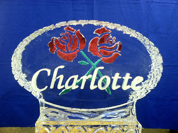 Name In Oval Charlotte With Color