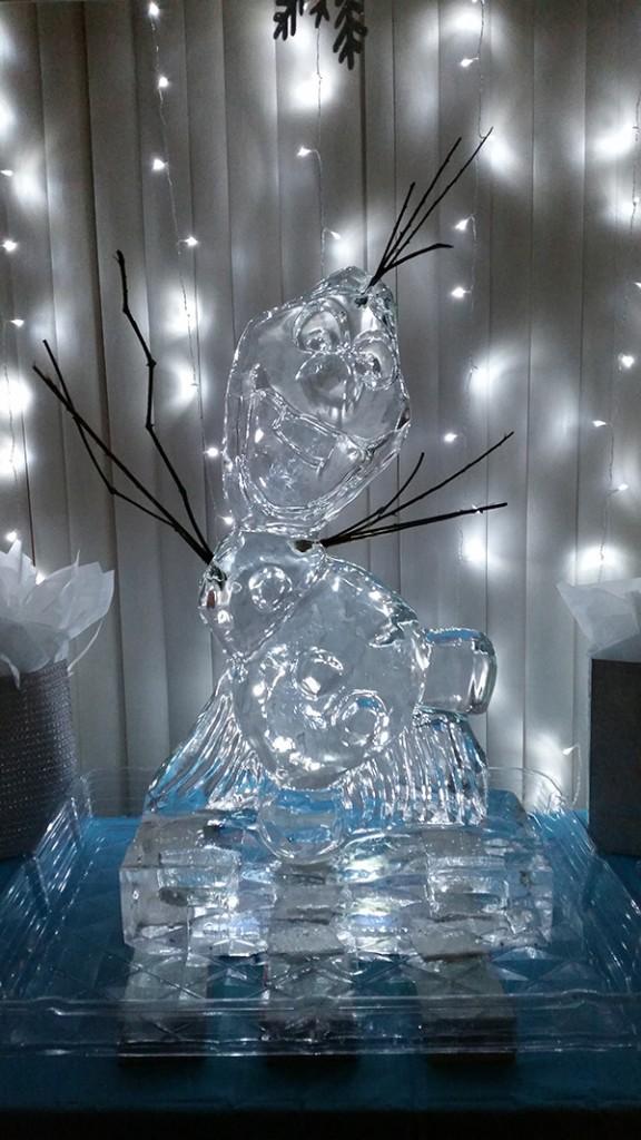 Olaf Sculpture