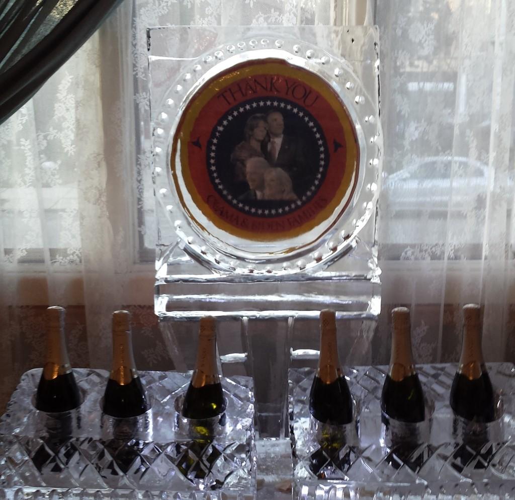 Obama Six (6) Bottle Display