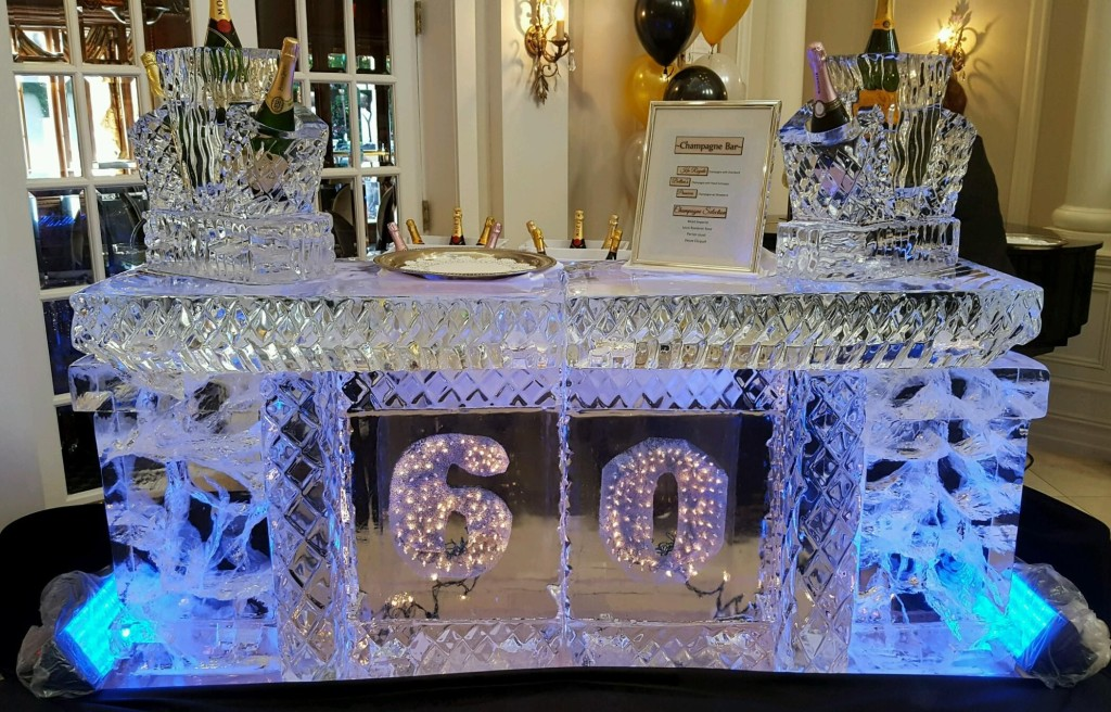 028 Lighted Birthday Bar with Bottle Display