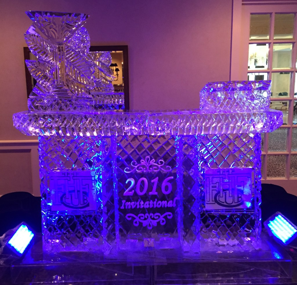 Bar with Martini Luge & Bottle Display