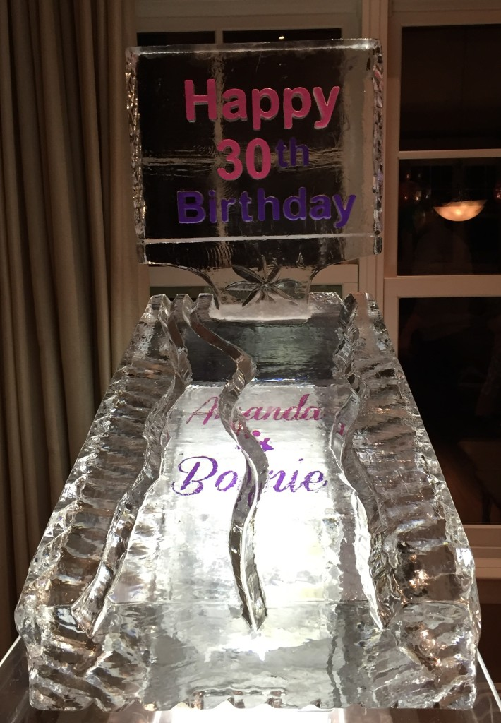 Birthday Luge with Insert