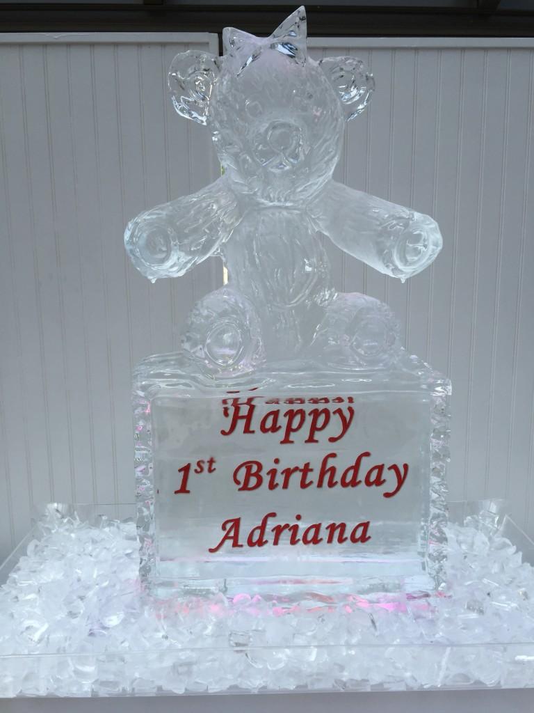 Baby's 1st Birthday Adrianna Teddy Bear 1049