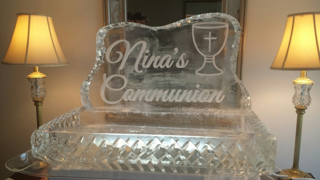 Communion Food Display