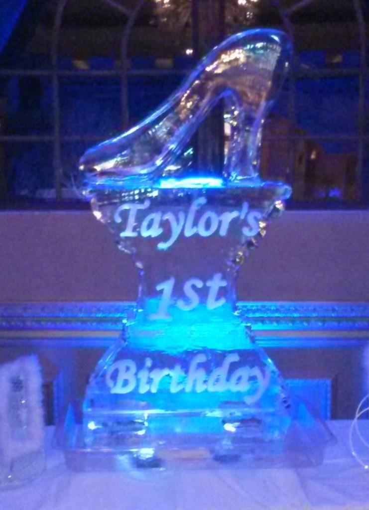 Cinderella's Slipper 1st Birthday 952