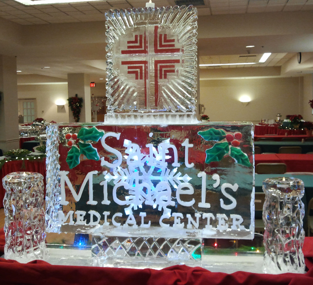 St. Michael's with Freeze-ins & Candle Holders 1019