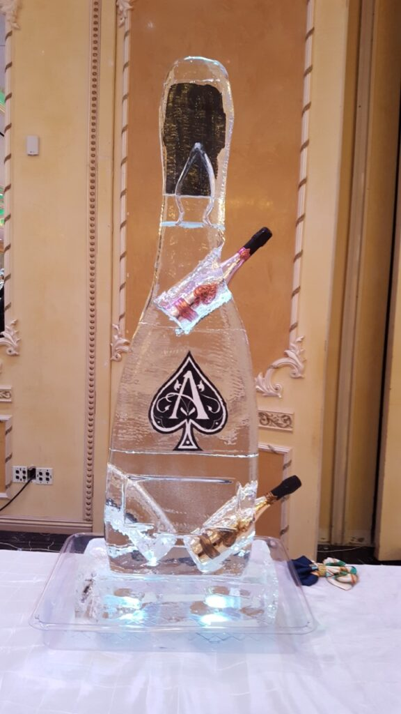 Ace of Spades Champagne Bottle