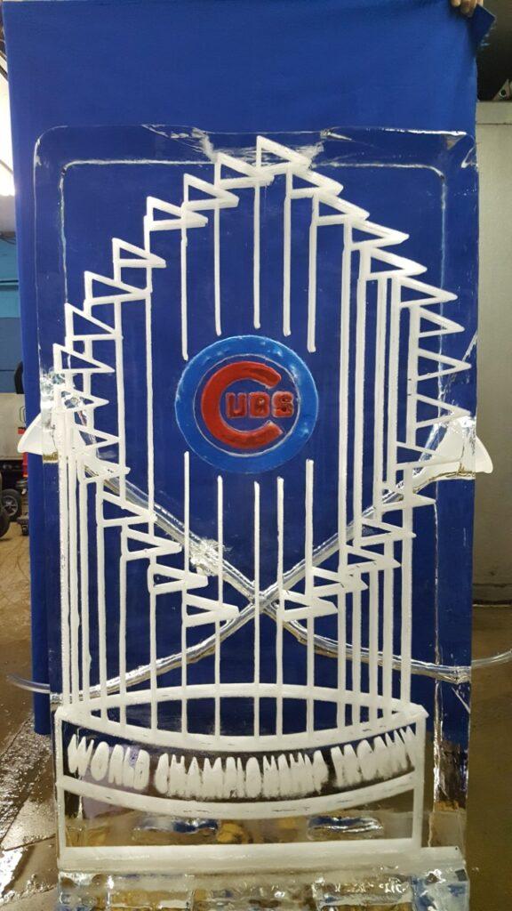 Baseball Trophy Luge