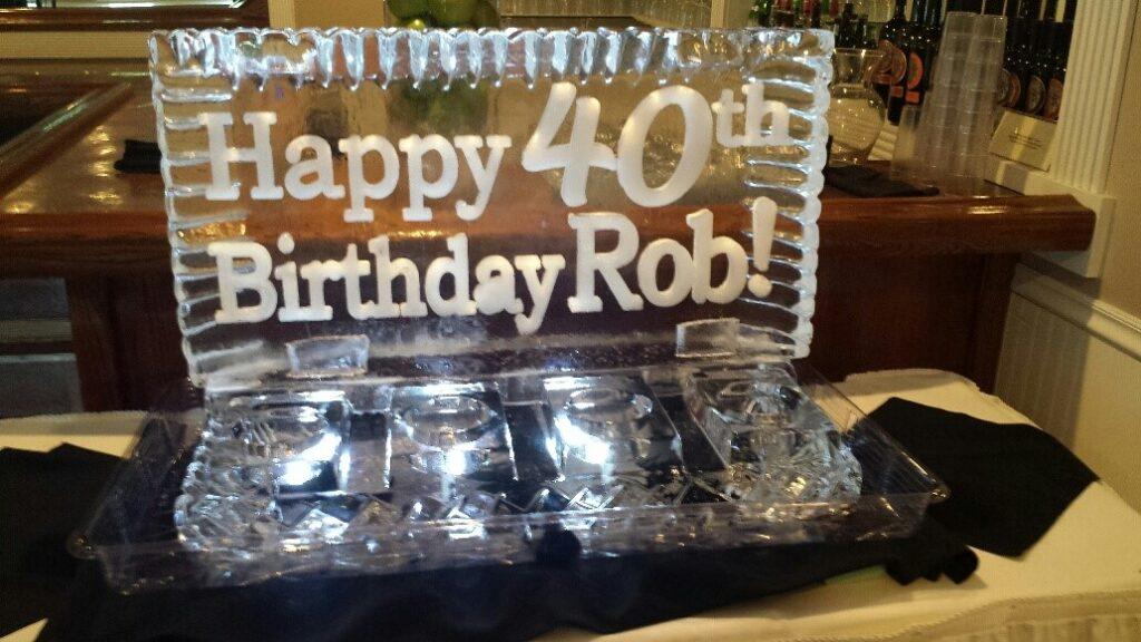Birthday 4 Bottle - 4 Cavier Holder