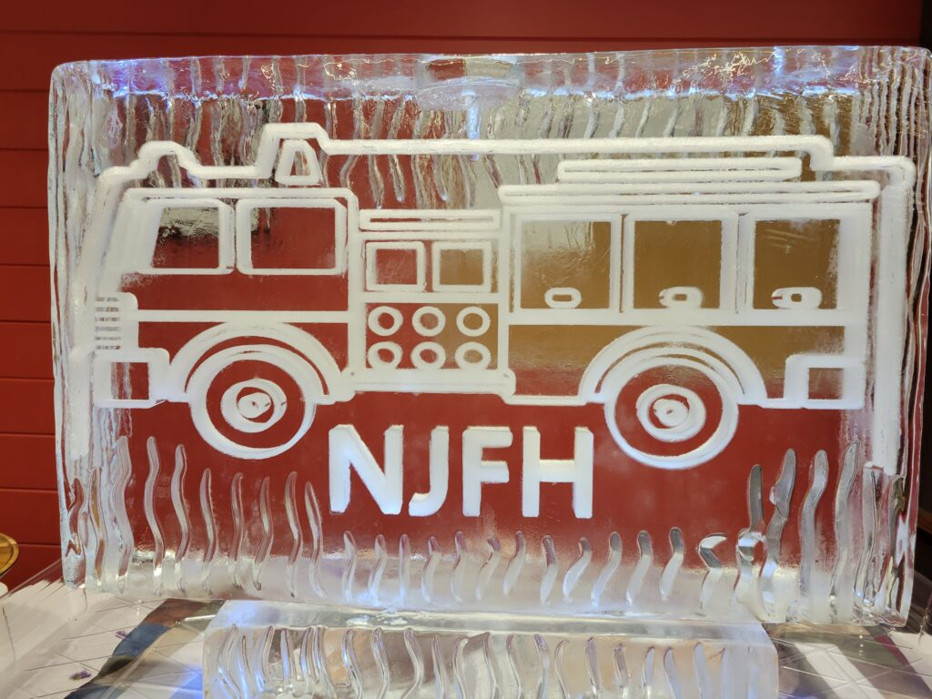 Firetruck and logo