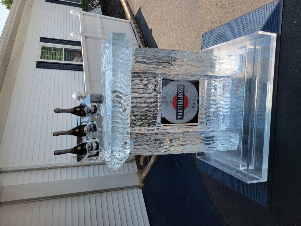 Freeze In Artwork & Ice Bar